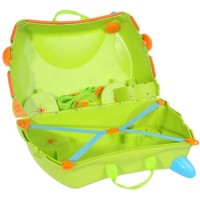 Детский чемодан на колесах Собачка