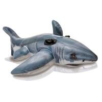 Игрушка для катания по воде Белая акула