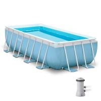Бассейн  PRISM FRAME RECTANGULAR 28316 + фильтрующий насос + аксессуары