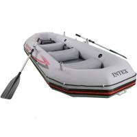 Лодка MARINER 4, 4-мест. + насос, весла,  надувной киль