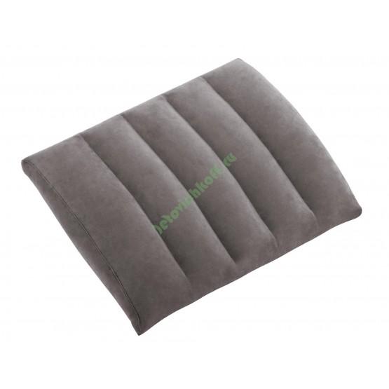 Подушка под спину Lumbar Cushion, флок/винил