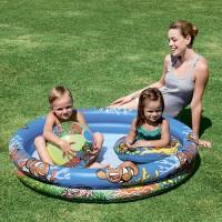 Набор: детский круглый бассейн, круг для плавания, мяч