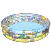Надувной бассейн Океан 3 кольца