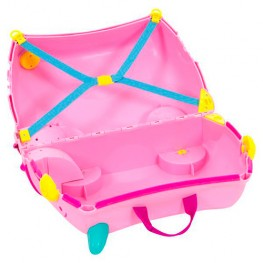 Детский чемодан на колесах Поросёнок