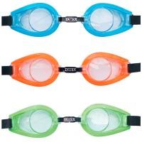 Очки для плавания PLAY, UV-защита, 3 цвета, от 8 лет