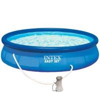 Бассейн EASY SET 28162/56412 + фильтрующий насос