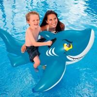 Игрушка для катания по воде Акула