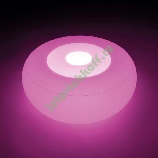 Надувной плавающий Пуфик с LED-подсветкой