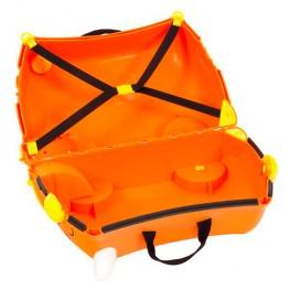 Детский чемодан на колесах Тигрёнок