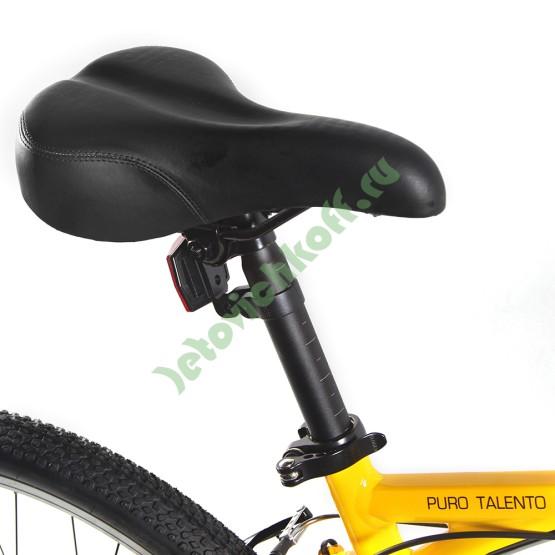 Велосипед Кросс Кантри 21 скорость красно-черный