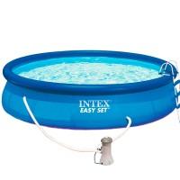 Бассейн EASY SET 28164/54914 + фильтрующий насос + аксессуары