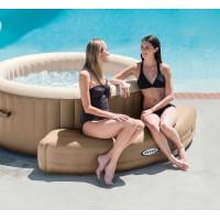 Надувная скамейка для СПА-бассейнов Intex, цвет бежевый