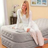 Кровать надувная SUPREME AIR-FLOW AIRBED, Twin (встроенный насос 220В)