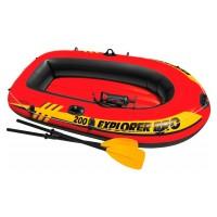 Лодка EXPLORER Pro 200 SET, 2-мест. + насос, весла