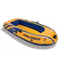 Лодка CHALLENGER 2 SET, 2 мест. + насос, весла