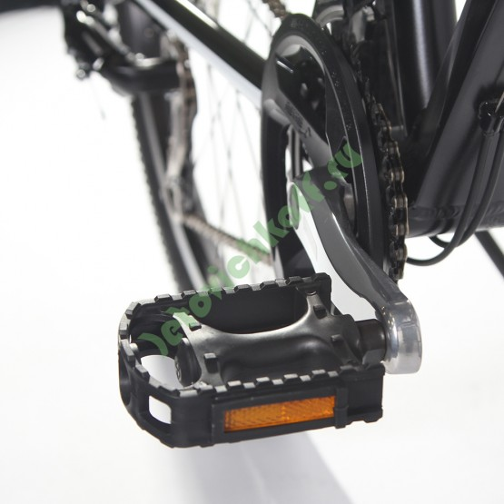 Велосипед Кросс Кантри 21 скорость черный матовый