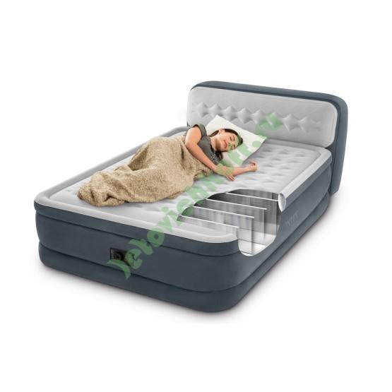 Кровать Ultra Plush Headboard Queen, флок