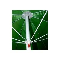 Зонт пляжный с наклоном зеленый