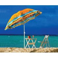 Зонт пляжный с наклоном