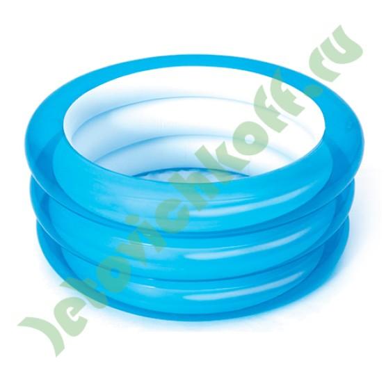 Надувной бассейн 3 кольца