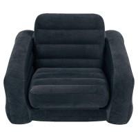Кресло PULL-OUT раскладывающееся, флок