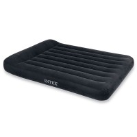 Кровать PILLOW REST CLASSIC с подголовником, Full, флок
