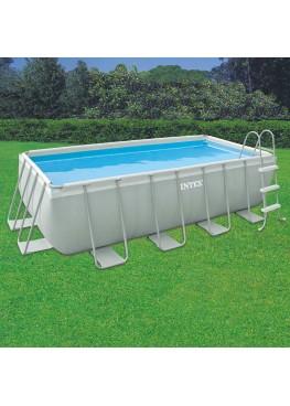 Бассейн RECTANGULAR ULTRA FRAME 28350 + фильтрующий насос + аксессуары