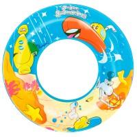 Круг надувной для плавания Дизайнерский