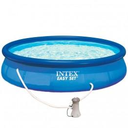 Бассейн EASY SET 28162 + фильтрующий насос