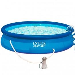 Бассейн EASY SET 28164 + фильтрующий насос + аксессуары
