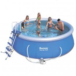 Бассейн Fast Set Pool 57148 фильтрующий насос + аксессуары