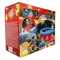 Бассейн Пираты 3D, надувное кольцо, с игрушками, с 2-мя парами 3D очков Объем: 3480л