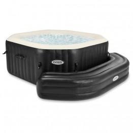 Надувная скамейка для СПА-бассейнов Intex, цвет темно-коричневый