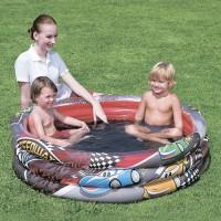 Детский бассейн Гонщики 3 кольца