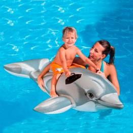 Игрушка для катания по воде Дельфинчик