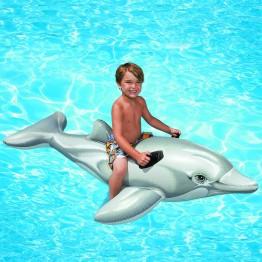 Игрушка для катания по воде Дельфин