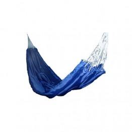 Гамак тканный, нейлон, цвет синий
