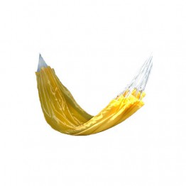 Гамак тканный, нейлон, цвет желтый