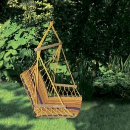 Гамак-кресло со спинкой, хлопок, полиэстер