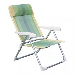 Кресло складное. Материал: алюминий, тексталин.