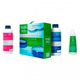 Комплект препаратов для дезинфекции воды MAK ECO без хлора