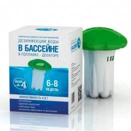 Препарат для дезинфекции воды с поплавком MAK 4