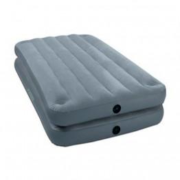 Кровать высокая, 2 в 1 на защелках, Twin, флок