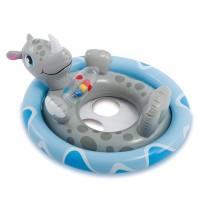 Плотик Животные, 3 вида, с игрушками, с поддержкой