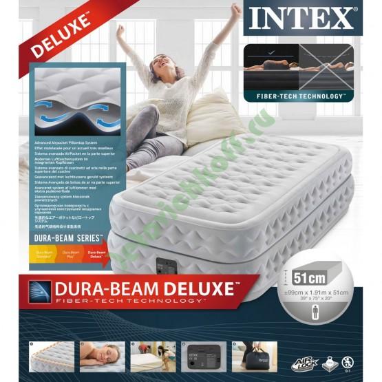 Кровать Supreme Air-Flow Twin, флок