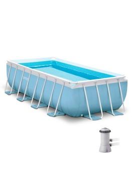 Бассейн  PRISM FRAME RECTANGULAR 28314 + фильтрующий насос + аксессуары