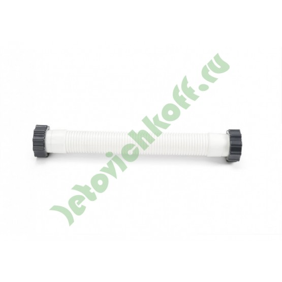 Шланг 38мм короткий для соединения помпы и емкости с песком песочного фильтра 9200л/ч, INTEX - 11535