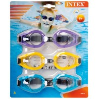 Очки для плавания PLAY, UV-защита
