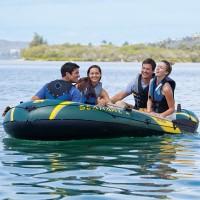 Лодка SEAHAWK 4 SET, 4-мест. + насос, весла