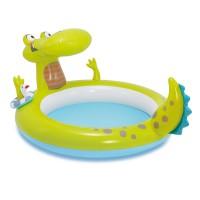 Бассейн  Крокодил, со спреем